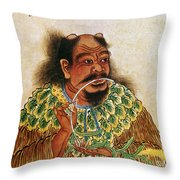 Shen Nung (c2800 B.c.) Throw Pillow