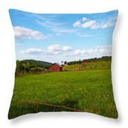 Shenandoah Farm Throw Pillow