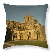 Sherborne Abbey  Throw Pillow