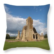 Sherborne Old Castle - 2 Throw Pillow