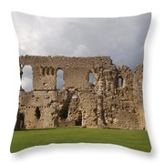 Sherborne Old Castle - 3 Throw Pillow