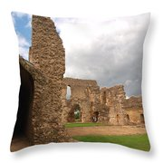 Sherborne Old Castle 5 Throw Pillow
