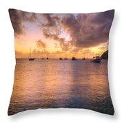 Sherri's Sunset Throw Pillow