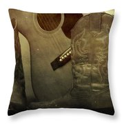 Shes Country Throw Pillow