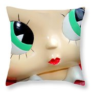 She's Got Betty Boop Eyes Throw Pillow