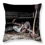 Shhh Don't Make A Sound Throw Pillow