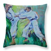 Shi Throw Pillow