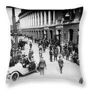 Shibe Park 1914 Throw Pillow