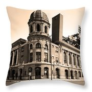 Shibe Park  Throw Pillow