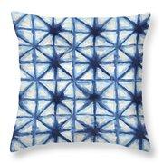 Shibori Iv Throw Pillow