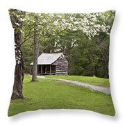 Shields' Place Throw Pillow