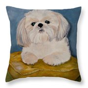 Shihtzu Throw Pillow