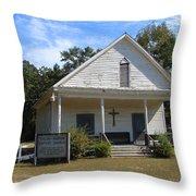Shiloh-marion Baptist Church Throw Pillow