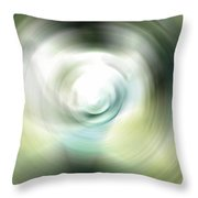 Shimmer - Energy Art By Sharon Cummings Throw Pillow