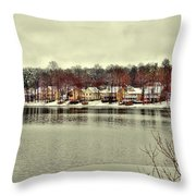Lake Lochmere  Throw Pillow
