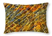Shimmerings Throw Pillow
