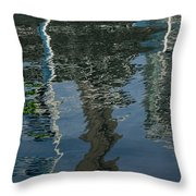 Shimmers Ripples And Luminosity Throw Pillow
