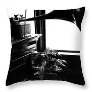Shine Of Old Tunes  Throw Pillow