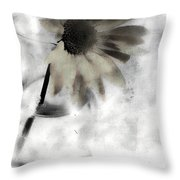 Shine Of Yellow  Throw Pillow