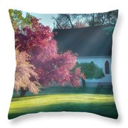 Shine The Light On Me Square Throw Pillow