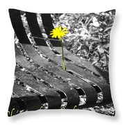 Shine Where God Puts You Throw Pillow