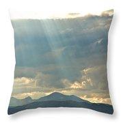 Shining Down Throw Pillow