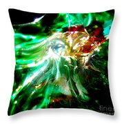 Shining Through The Glass II Throw Pillow