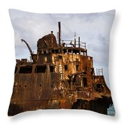 Ship Ashore Throw Pillow