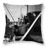 Ship Detail Throw Pillow