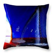 Ship - Gulf Of Mexico Throw Pillow