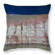 Ship Rust 1 Throw Pillow