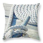 Ship Shape Throw Pillow