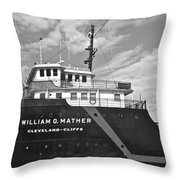 Ship Shape Throw Pillow