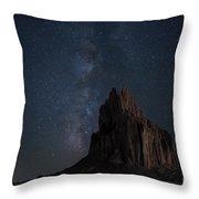 Shiprock Throw Pillow