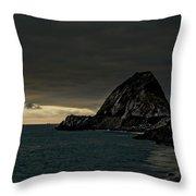 Ships At Point Mugu Throw Pillow
