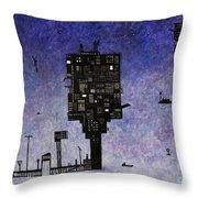 Ships In The Night IIi Throw Pillow
