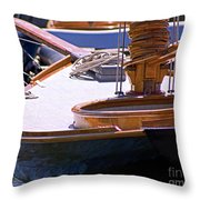 Shipshape Throw Pillow