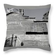 Shipwreck 2 Throw Pillow