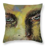 Shiva Throw Pillow by Michael Creese