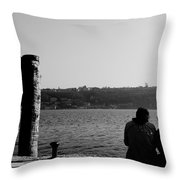 Shivers Throw Pillow