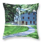 Shoaff's Mill Throw Pillow