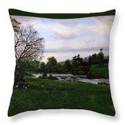 Shobrooke Park  Crediton  Devon Throw Pillow