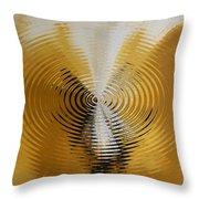 Shock Wave Throw Pillow