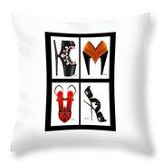 Shoe Love Quad Throw Pillow