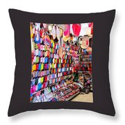 Shoe Souk Throw Pillow