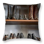 Shoe Store Throw Pillow
