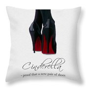 Shoes Can Change Your Life Throw Pillow