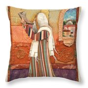 Shofar Throw Pillow