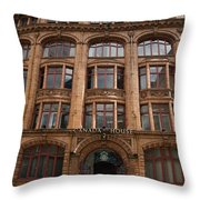 Shooting At Canada House Throw Pillow