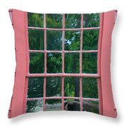 Shooting Back Throw Pillow